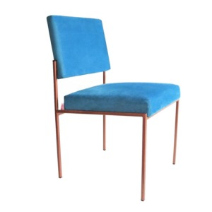 Cube Chair Dining Copper