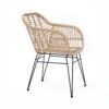 Havana Dining Chair Geflecht, Natur