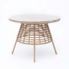 Havana Dining Table Geflecht, Natur