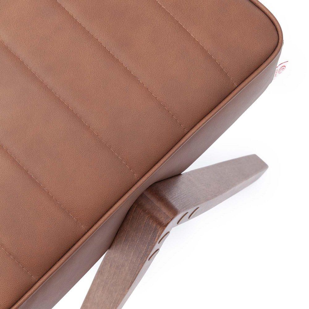 Retrostar Footstool, Leather