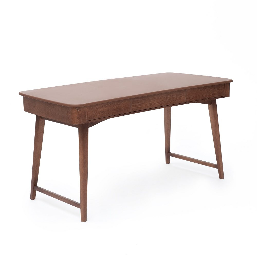 Schreibtisch Retroline, Leder